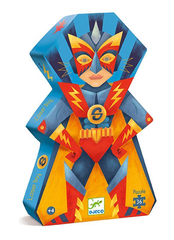 Siluettepussel, Laser Boy, 36 pcs