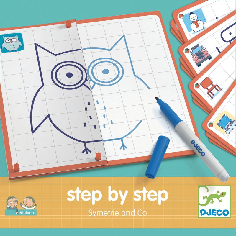 Step by step symetrie and Co
