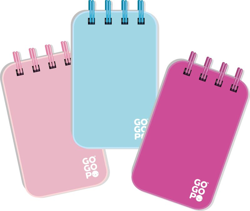 GOGOPO Mini Notepad