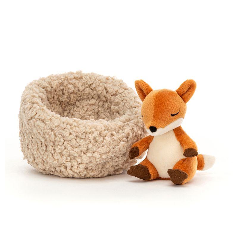 Hibernating Fox