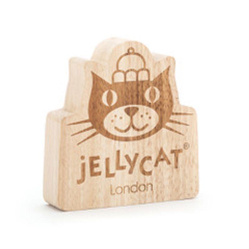 Jellycat wooden logo