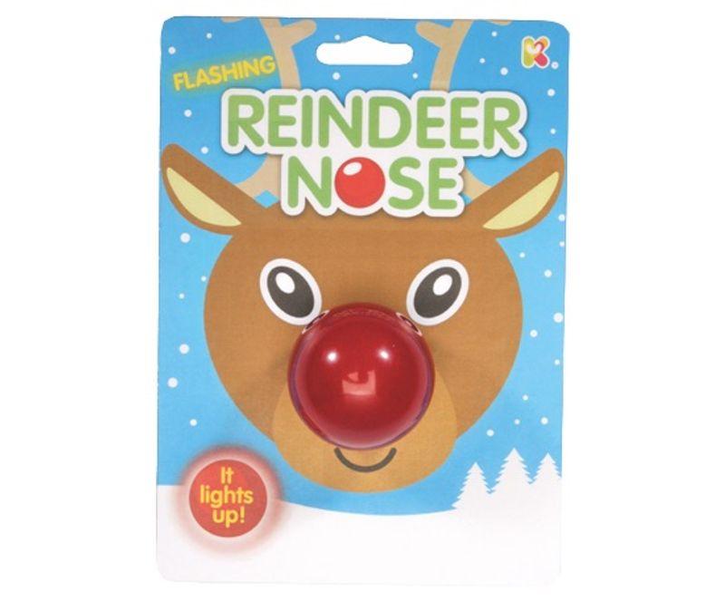 Flashing Reindeer Nose