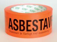 Tejp asbestavfall