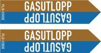 Flo-Code medicin Gasutlopp