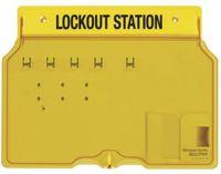 Lockoutstation för 4 hänglås 1482