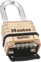 Master Pro kombinationshänglås med oktagonal boron-bygel höjd 53 mm