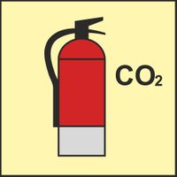 FS0079 CO2 fire extinguisher