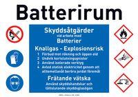 Batterirum
