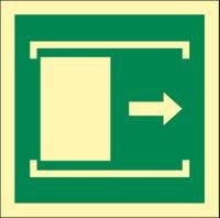 RS0053 Door slides right to open