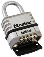 Master Pro kombinationshänglås rostfritt stål