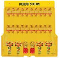 Lockoutstation paket för 20 hänglås 1484