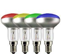 Reflektorlampa R50 Färgad
