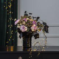 Dew Drops Bouquet 125 LED Varmvit/Svart med trafo