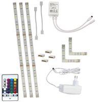 LED Strip Startset Varmvit + RGB