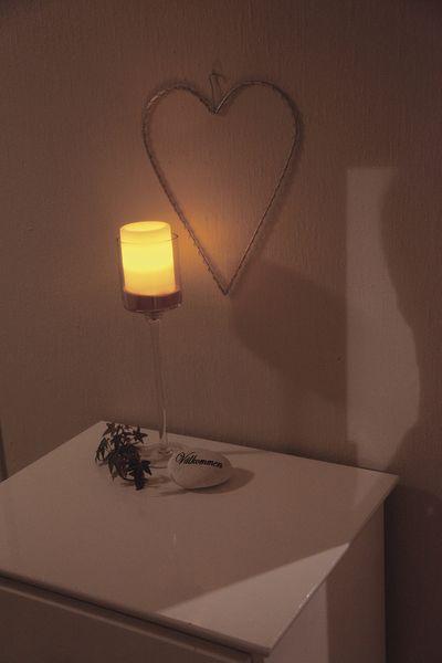 Vaxljus med LED
