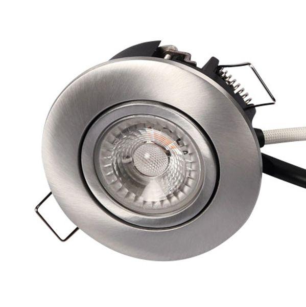 Scan Products LED Downlight Luna LP 4000K 230V 6,2W Borstad Aluminium UTOMHUS