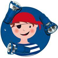 Pirat 3x Spotlight barnlampa