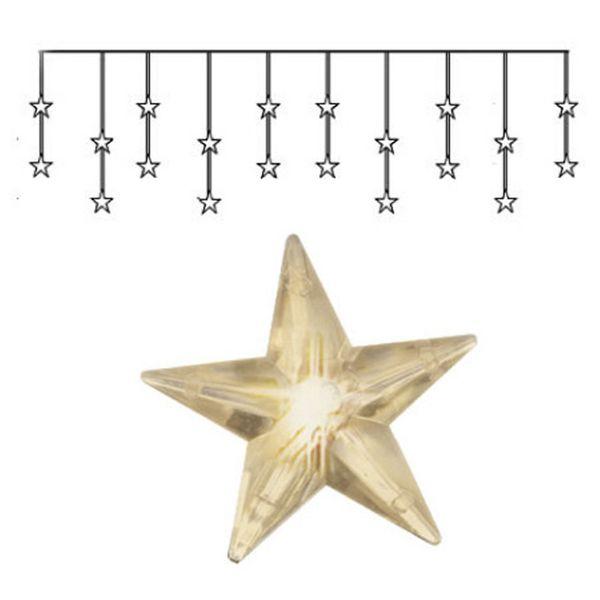 Ljusgardin Star Curtain LED