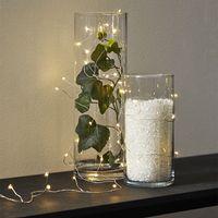 Dew Drops 100 LED Dagsljus/Silver