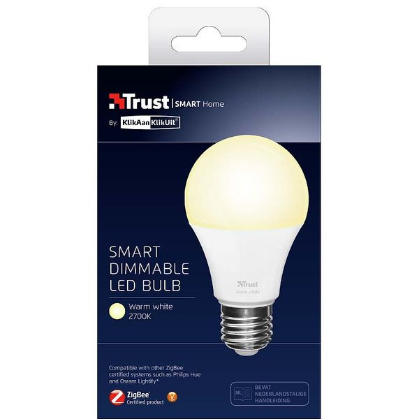 Trust ZigBee Normallampa LED 9W 806lm E27 2700ºK