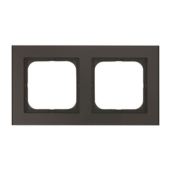 Malmbergs Optima Kombinationsram 2-fack svart