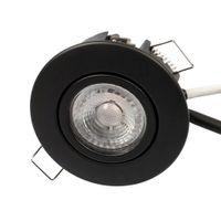 Scan Products LED Downlight Luna LP 3000K 230V 6,2W Matt Svart