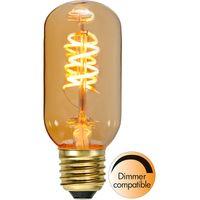 Dimbar Rörlampa Spiral Amber LED 2,0W 90lm E27