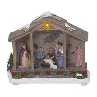Juldekoration Panorama Nativity