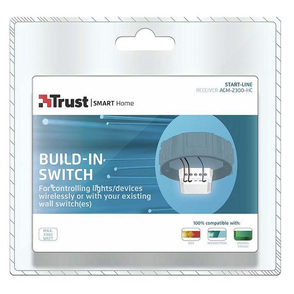 Trust Inbygnadsströmbrytare LED ACM-2300-HC