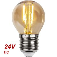 24V Klotlampa Filament LED 0,4W 39lm E27