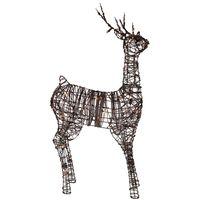 Rotting Ren Metall, Brun 120 cm