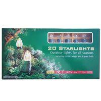 Julgransslinga StarLights 20L Klar