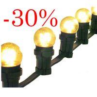 Flatkabel Outlet B22 c/c 50cm 7m Svart -30% billigare