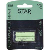 Reservbatteri AAA till solcellslampor 2-pack