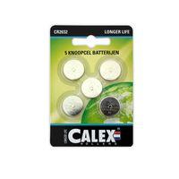 Batteri Calex CR2032 3V 5-p