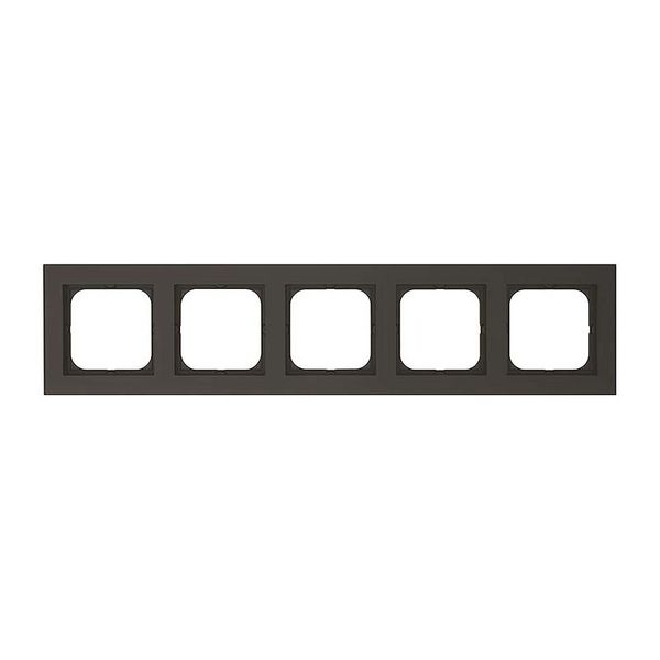 Malmbergs Optima Kombinationsram 5-fack svart