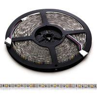 LED Strip 12V 14,4W/m RGB + Varmvit IP65