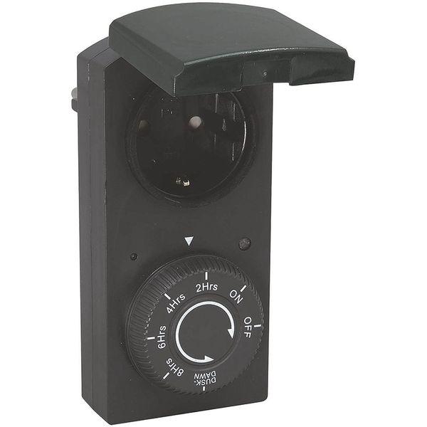 Malmbergs Strömbrytare med ljussensor IP44 Utomhus