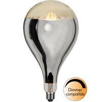 Dimbar Dekorationslampa Silver Ø165 Industrial Vintage LED 8,0W 400lm E27