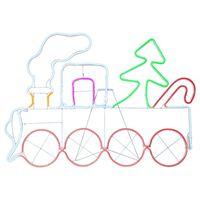 Siluett NEOLED Tåg