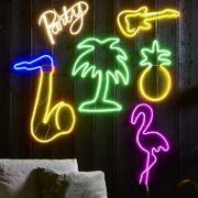 Palm Siluett Neon