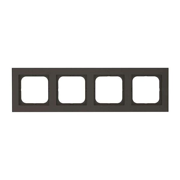 Malmbergs Optima Kombinationsram 4-fack svart