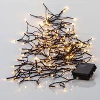 Akku Ljusslinga för utomhus LED, 160-ljus