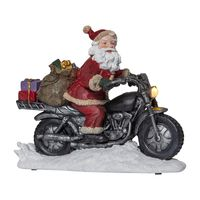 Juldekoration Panorama Merryville Motorcykel