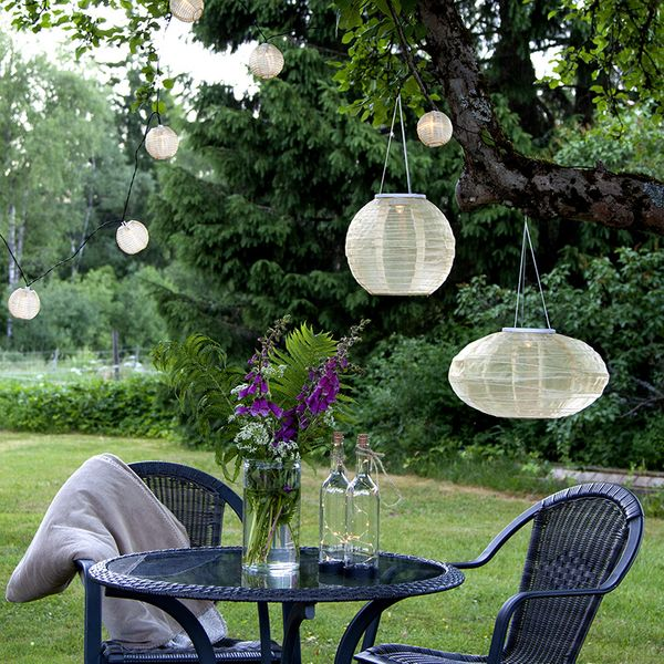 Dew Drops BOTTLE Solcellsdekoration Transparent
