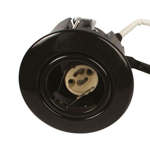 Scan Products LED Downlight Luna QI 230V Svart Utan ljuskälla UTOMHUS