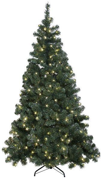 Julgran Konstgran Ottawa Grön med LED 210 cm