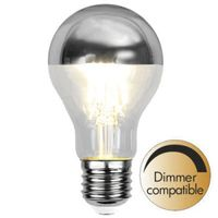 Dimbar Toppförspeglad Normal Silver LED 4,0W 350lm E27