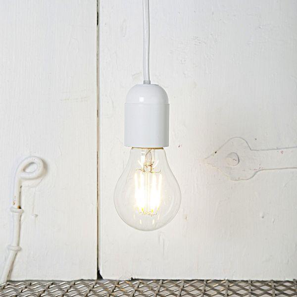 Dimbar Normallampa Filament LED 4,0W E27