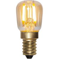 Päronlampa Soft Glow Amber LED 0,5W 30lm E14